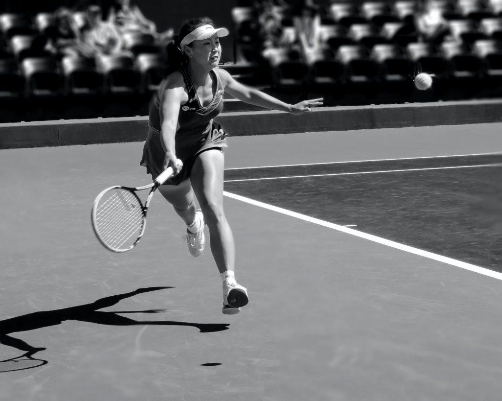 cross tennis taktik gegen stärkere Gegner